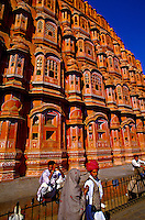 Hawa Mahal (Palace of the Winds), Jaipur, Rajasthan, India