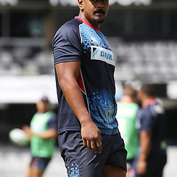 Will Skelton of the NSW Waratahs during the NSW Waratahs Cap Run at  Growthpoint Kings Park Durban , South Africa. March 9th 2017(Photo by Steve Haag)<br /> <br /> images for social media must have consent from Steve Haag
