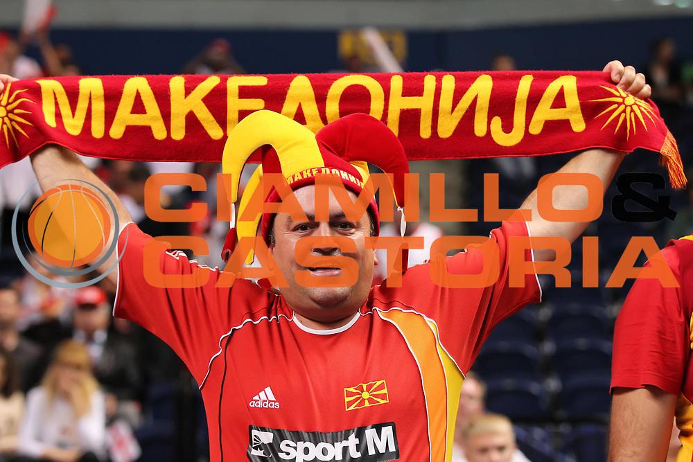 DESCRIZIONE : Vilnius Lithuania Lituania Eurobasket Men 2011 Second Round Georgia Macedonia Georgia FYR of Macedonia<br /> GIOCATORE : Tifosi Supporters Fans Macedonia FYR of Macedonia <br /> SQUADRA : Macedonia FYR of Macedonia <br /> EVENTO : Eurobasket Men 2011<br /> GARA : Georgia Macedonia Georgia FYR of Macedonia<br /> DATA : 08/09/2011 <br /> CATEGORIA : tifosi<br /> SPORT : Pallacanestro <br /> AUTORE : Agenzia Ciamillo-Castoria/ElioCastoria<br /> Galleria : Eurobasket Men 2011 <br /> Fotonotizia : Vilnius Lithuania Lituania Eurobasket Men 2011 Second Round Georgia Macedonia Georgia FYR of Macedonia<br /> Predefinita :