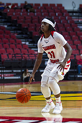 NORMAL, IL - October 30: Tete Maggett during a college women's basketball game between the ISU Redbirds and the Lions on October 30 2019 at Redbird Arena in Normal, IL. (Photo by Alan Look)