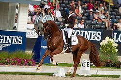 Van Liere Dinja, NED, Independent Little Me<br /> World Championship Young Dressage Horses - Ermelo 2019<br /> © Hippo Foto - Dirk Caremans<br /> Van Liere Dinja, NED, Independent Little Me