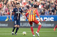 Thiago MOTTA  - 07.03.2015 -   PSG / Lens -  28eme journee de Ligue 1 <br />Photo : Andre Ferreira / Icon Sport