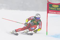 Bjoernar Neteland of Norway during 1st run of Men's Giant Slalom race of FIS Alpine Ski World Cup 57th Vitranc Cup 2018, on 3.3.2018 in Podkoren, Kranjska gora, Slovenia. Photo by Urban Meglič / Sportida