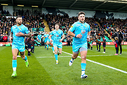 Ethan Waller of Worcester Warriors to face old club Northampton Saints - Mandatory by-line: Robbie Stephenson/JMP - 04/05/2019 - RUGBY - Franklin's Gardens - Northampton, England - Northampton Saints v Worcester Warriors - Gallagher Premiership Rugby