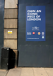 UK ENGLAND LONDON 5SEP13 - Signage at Nine Elms Lane, Vauxhall, central London.<br /> <br /> jre/Photo by Jiri Rezac<br /> <br /> © Jiri Rezac 2013