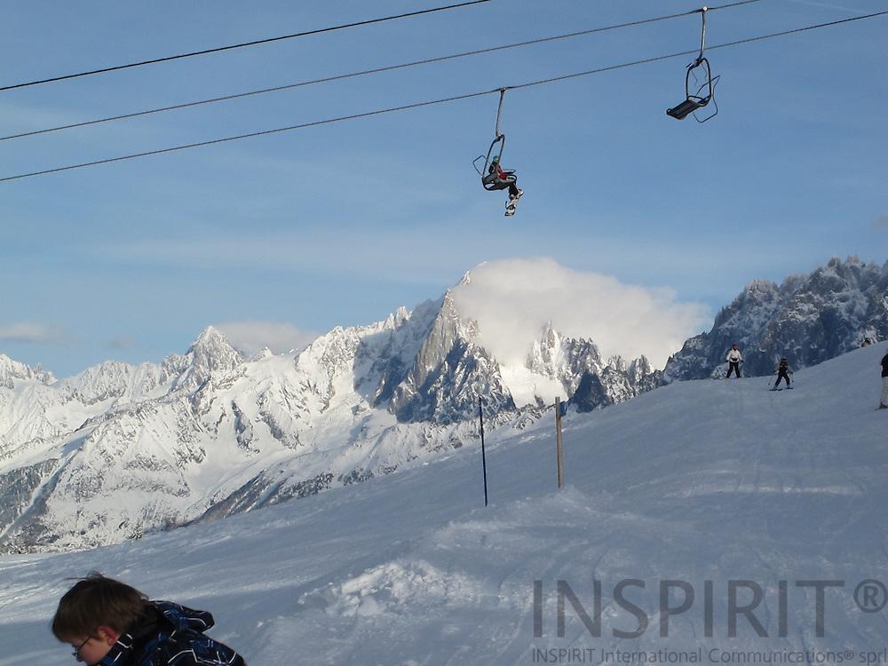 scenery around Mount Blanc and the village of Chamonix. Photo: Tuuli Sauren / Inspirit International Communications