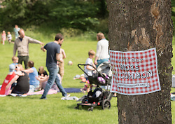 To mark the anniversary of the murder Jo Cox MP her family and friends invited people across the country to organise or attend a celebration in their community on 17-18 June. In Portobello, Edinburgh, local resident and former colleague of Jo Cox, Kim Wallace, organised a picnic for families in Figgate Park.<br /> <br /> <br /> &copy; Jon Davey/ EEm
