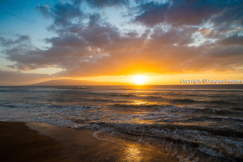 Sunset, North Kaanapali Beach, Maui, Hawaii