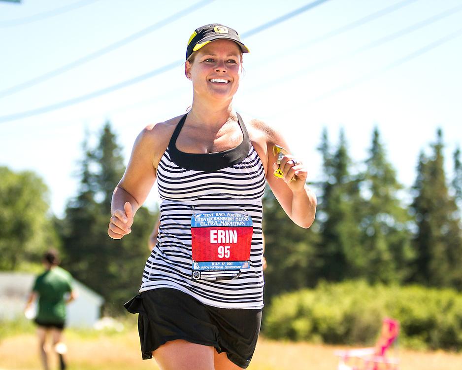 Great Cranberry Island Ultra 50K road race: Erin Lawry