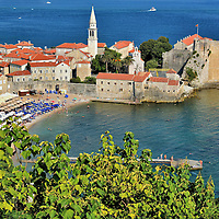 Tourism Capital of Budva Riviera in Montenegro <br />