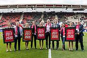 ALKMAAR - 22-04-2017, AZ - FC Twente, AFAS Stadion, rabobank
