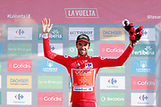 Jesus Herrada (ESP, Cofidis), podium during the 73th Edition of the 2018 Tour of Spain, Vuelta Espana 2018, Stage 13 cycling race, Candas Carreno - La Camperona 174,8 km on September 7, 2018 in Spain - Photo Luca Bettini / BettiniPhoto / ProSportsImages / DPPI