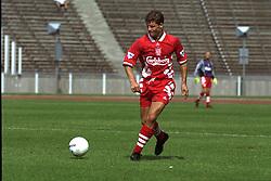 BERLIN, GERMANY - Sunday, August 7, 1994: Liverpool's Stig Inge Bjørnebye during a preseason friendly between Hertha BSC Berlin and Liverpool FC at the Olympiastadion. Liverpool won 3-0. (Pic by David Rawcliffe/Propaganda)
