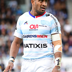 Joe Rokocoko of Racing 92 during the Top 14 match between Racing 92 and Oyonnax  at  on September 17, 2017 in Colombes, France. (Photo by Dave Winter/Icon Sport)