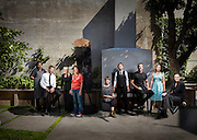 Mâitre D's nominated as Auckland's top restaurant personalities line up at The French Café.