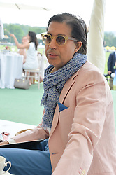 ALEXANDER BARANI at the St.Regis International Polo Cup at Cowdray Park, Midhurst, West Sussex on 17th May 2014.