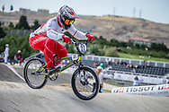 Men Elite #27 (YOSHIMURA Jukia) JPN the 2018 UCI BMX World Championships in Baku, Azerbaijan.