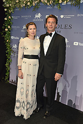 Georgie Cleeve and husband George Gordon at the Boodles Boxing Ball, in association with Argentex and YouTube in Support of Hope and Homes for Children at Old Billingsgate London, United Kingdom - 7 Jun 2019 Photo Dominic O'Neil