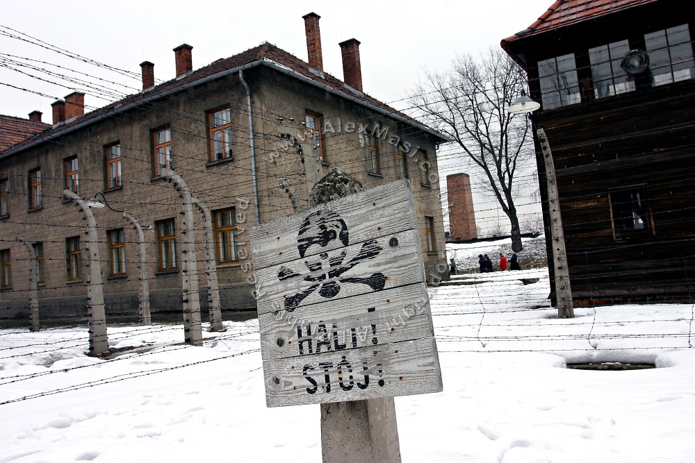 Auschwitz Concentration Camp, on Sunday, Apr. 16, 2006. **ITALY OUT**