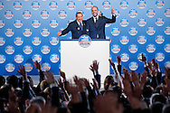 2013/01/25 Roma, il Popolo delle Liberta' apre la sua campagna elettorale. Nella foto Silvio Berlusconi e Angelino Alfano..Freedom People Party open its electoral campaign. In the picture Silvio Berlusconi and Angelino Alfano