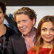 NLD/Amsterdam/20150303 - Persviewing Popster, Pop Miss Izzy, Lenette van Dongen, Henkjan Smits, Georgina Verbaan