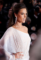 Alessandra Ambrosio at the Opening Ceremony and The Dead Don't Die gala screening at the 72nd Cannes Film Festival Tuesday 14th May 2019, Cannes, France. Photo credit: Doreen Kennedy