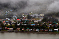 Aerial view, Juneau, Alaska, United States of America