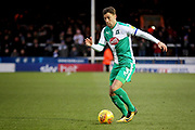 Plymouth defender Gary Sawyer (3) during the EFL Sky Bet League 1 match between Peterborough United and Plymouth Argyle at London Road, Peterborough, England on 2 February 2019.