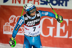 "Henrik Kristoffersen (NOR) during FIS Alpine Ski World Cup 2016/17 Men's Slalom race named ""Snow Queen Trophy 2017"", on January 5, 2017 in Course Crveni Spust at Sljeme hill, Zagreb, Croatia. Photo by Ziga Zupan / Sportida"