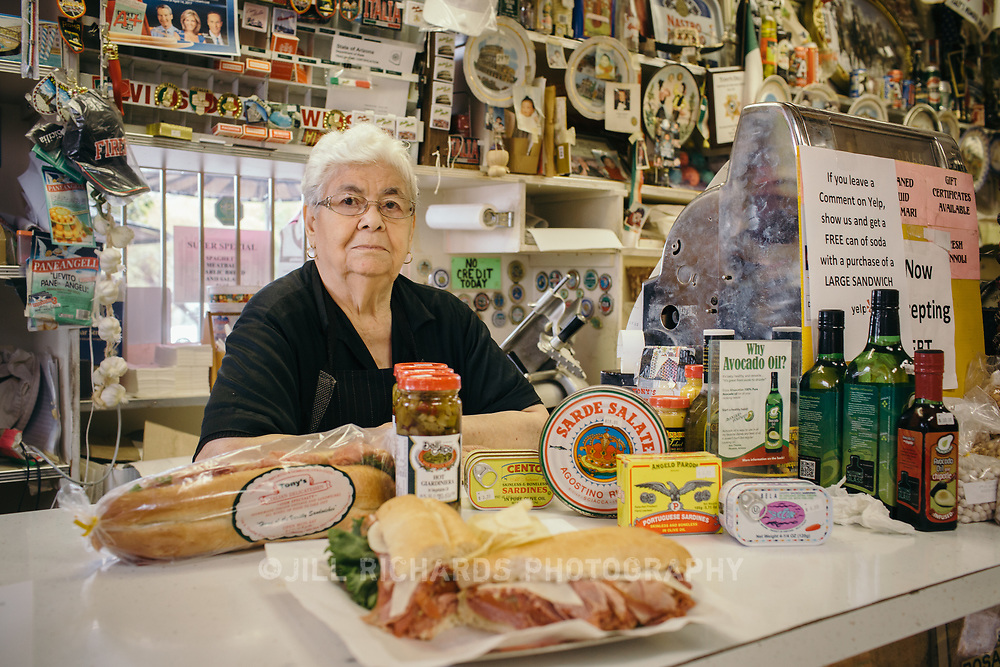Tony's Italian Delicatessen in Phoenix is a one-stop shop for authentic Italian ingredients and deli sandwiches. The Abramo family has owned and operated the Phoenix landmark for more than 50 years.