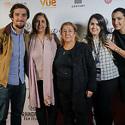 London, England, UK. 25th September 2017. Director & Producer family and friends of TRENDY attend Raindance Film Festival Screening at Vue Leicester Square, London, UK