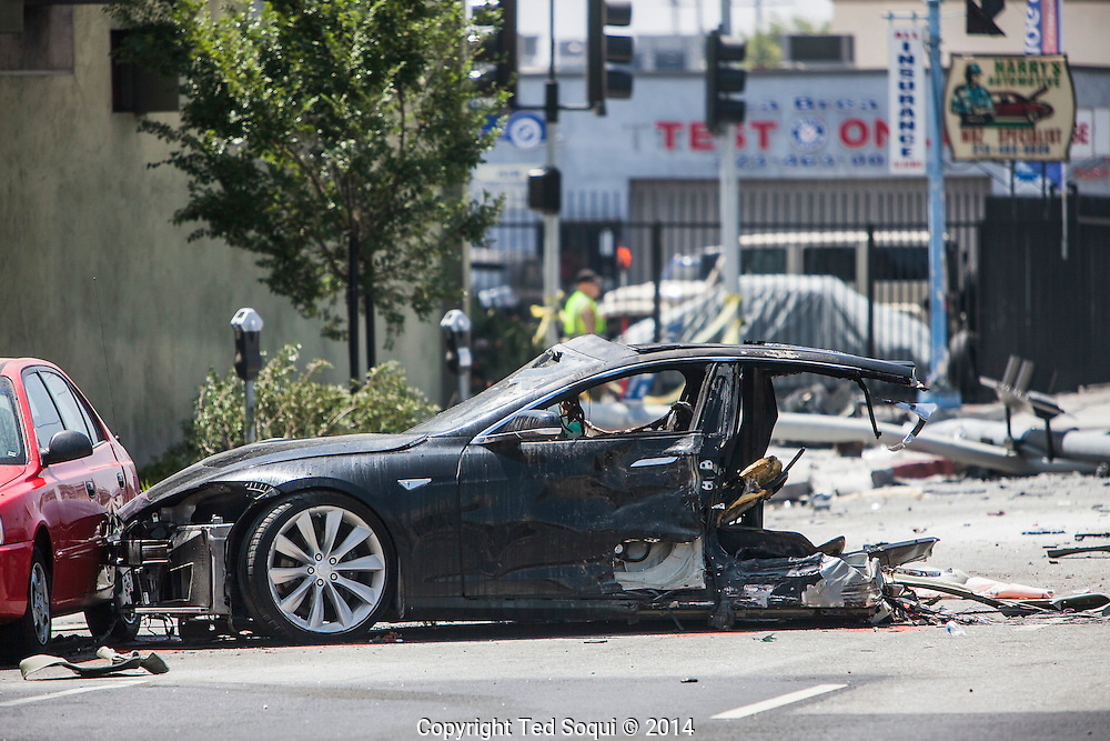 Tesla Model  La Car Show