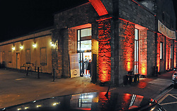 All lit Up…<br />Westival Gallery on Castlebar St Westport<br />Pic Conor McKeown