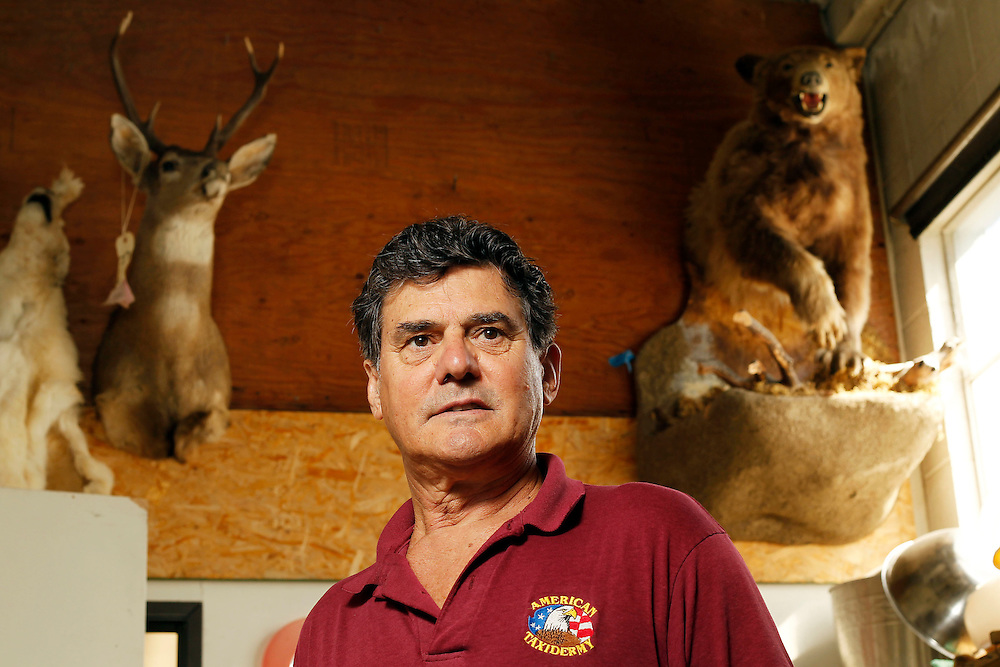 "Sergio ""2000"" Vilgilato owner of American Taxidermy in Burbank, Calif., is the man responsible for preserving Lady Gaga's infamous Meat Dress so as it can be put on display in the Music Hall of Fame. ""I can do anything, if you can afford it,"" his slogan says."