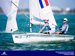 From 27 January to 3 February 2019, Miami will host sailors for the second round of the 2019 Hempel World Cup Series in Coconut Grove. More than 650 sailors from 60 nations will race across the 10 Olympic Events. &copy;TOMAS MOYA/SAILING ENERGY/WORLD SAILING<br /> 02 February, 2019.