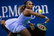 Serena Williams of the United States in action during the second round at the 2018 US Open Grand Slam tennis tournament, at Billie Jean King National Tennis Center in Flushing Meadow, New York, USA, August 29th 2018, Photo Rob Prange / SpainProSportsImages / DPPI / ProSportsImages / DPPI