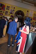 HELEN DAVID, Royal Academy Summer Exhibition party. Burlington House. Piccadilly. London. 6 June 2018