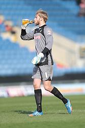 Burton Albion goalkeeper Robert Lainton (1)  - Photo mandatory by-line: Nigel Pitts-Drake/JMP - Tel: Mobile: 07966 386802 08/03/2014 - SPORT - FOOTBALL -  Kassam Stadium - Oxford - Oxford United v Burton Albion - Sky Bet League Two
