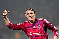 FOOTBALL - UEFA CHAMPIONS LEAGUE 2011/2012 - GROUP STAGE - GROUP D - OLYMPIQUE LYONNAIS v AJAX AMSTERDAM - 22/11/2011 - PHOTO EDDY LEMAISTRE / DPPI - KIM KALLSTROM (OL)