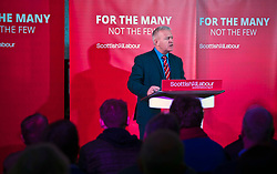 Pictured: Ian Lavery MP<br /> <br /> Jeremy Corbyn and Richard Leonard joined the Scottish Labour faithful tonight at a rally in at the Shottstown Miners Welfare Halls in Penicuik.<br /> <br /> They were joined by Labour MPs Ian Lavery and Danielle Rowley