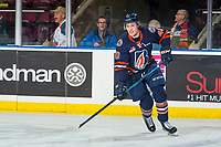 KELOWNA, BC - FEBRUARY 23: Jeff Faith #40 of the Kamloops Blazers warms up on the ice against the Kelowna Rockets at Prospera Place on February 23, 2019 in Kelowna, Canada. (Photo by Marissa Baecker/Getty Images)