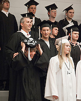 Prospect Mountain High School commencement ceremony June 17, 2011.Prospect Mountain High School commencement ceremony June 17, 2011.