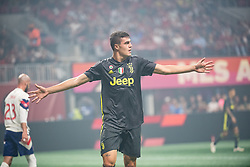 August 1, 2018 - Atlanta, Georgia, United States - Juventus forward ANDREA FAVILLI, 42 celebrates his goal during the 2018 MLS All-Star Game at Mercedes-Benz Stadium in Atlanta, Georgia.  Juventus F.C. defeats  MLS All-Stars defeat  1 to 1  (Credit Image: © Mark Smith via ZUMA Wire)