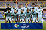 CONMEBOL PRE-OLYMPIC ACTION STOCK