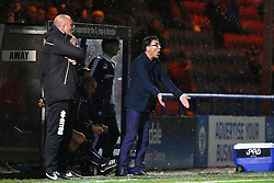 Chesterfield Manager Dean Saunders shouts  - Mandatory byline: Matt McNulty/JMP - 07966 386802 - 06/10/2015 - FOOTBALL - Spotland Stadium - Rochdale, England - Rochdale v Chesterfield - Johnstones Paint Trophy