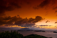 Sunrise from One Taro Hill, Noumea, Grand Terre, New Caledonia