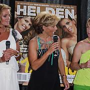 NLD/Ridderkerk/20120628 - Presentatie blad Helden 14, Inge de Bruin, dressuurrijdster Anky van Grunsven, Cor van der Geest en partner, Leontien Zijlaard - van Moorsel
