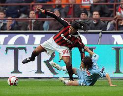 20-03-2010 VOETBAL: AC MILAN - NAPOLI: MILAAN<br /> Milan speelt gelijk 1-1 tegen Napoli / RONALDINHO<br /> ©2010- nph /   N. Zangirolami