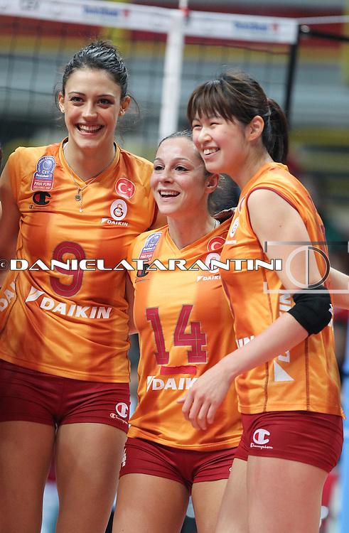 La gioia di Istanbul (Unendo Yamamay Busto Arsizio - Galatasaray Daikin Istanbul)