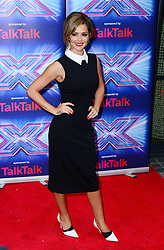 Image ©Licensed to i-Images Picture Agency. 27/08/2014. London, United Kingdom. Cheryl Fernandez-Versini arriving for the launch of the new series of The X Factor. Picture by Nils Jorgensen / i-Images